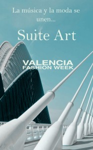 Valencia Fashion Week blau claret