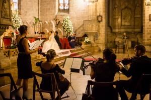 El Cuarteto de soprano y tres instrumentos de cuerda Suite Art