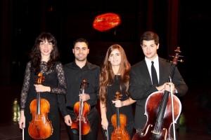 Nuestro Cuarteto de cuerda Suite Art Bilbao